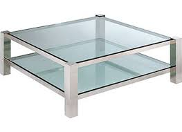 square glass top coffee table matthews parker products
