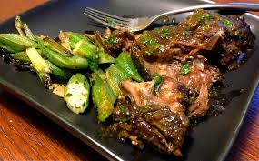 slow cooker korean braised short ribs with okra commuter u0027s kitchen