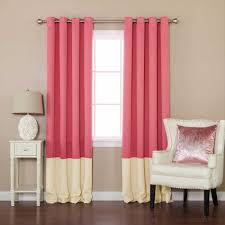 Navy And Pink Curtains Home Decoration The Roman Blind And Two Tone Combined Really