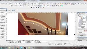 Les Faux Plafond En Platre by Modelesation 3d D U0027un Faux Plafond En Platre Partie N 1 Youtube