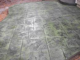 gray green dixie stamped concrete inc patios