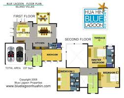 villa floor plans floor plans blue lagoon hua hin villas and apartments