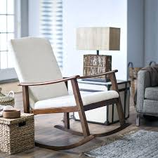 small upholstered rocking chair recliner ideas modern swivel