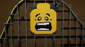 lego roller coaster youtube