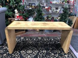 burl wood console table henredon scene two burl wood console table furniture in oak park mi