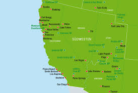 Redding California Map Wohnmobil Routenvorschläge Usa Canusa