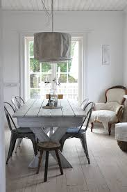 picnic style kitchen table metal wood love the whitewashed table there s no place like