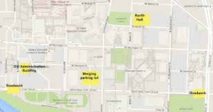 Indiana University Map Construction Improvements Changing The Face Of Campus Headlines