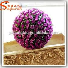 Flower Ball Size Can Be Customized All Types Of Artificial Flower Ball Fake