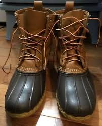 s bean boots size 11 ll bean boots mens 8 thinsulate leather rubber size 11 11 5 12 ebay