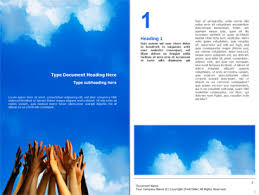 welcome brochure template powerpoint diagrams word and brochure templates poweredtemplate
