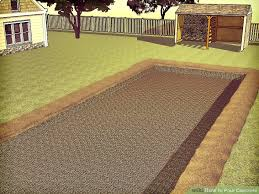 How To Clean A Concrete Patio by How To Pour Concrete 12 Steps With Pictures Wikihow