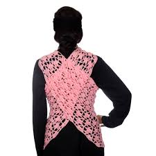 pink triangle shawl triangle scarf crochet triangle wrap for