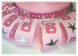 dallas cowboy ribbon dallas cowboy grosgrain football ribbon sports nfl cowboys