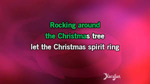 karaoke rockin u0027 around the christmas tree tony bennett youtube