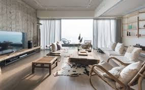 Home Design Magazine Hong Kong Hong Kong Family U0027s One Bedroom Home Makes For Open Plan Living