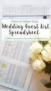How To Make A Wedding Album Best 25 Wedding Guest List Ideas On Pinterest Guest List