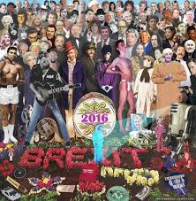 rock artist who died 2016 an artist recreated the sgt pepper s cover with the cultural icons