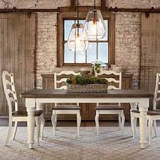 Farm Table With Bench And Chairs Dining Room Tables Dining Room Furniture Bassett Furniture
