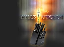 hells kitchen knives hell s kitchen 18 kitchen knife set