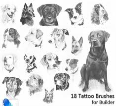 dog tattoos and designs page 185