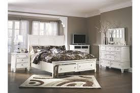 Prentice Queen Sleigh Bed With Storage Ashley Furniture Homestore