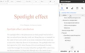 Google Doc Table Of Contents How To Work With Search U0026 Navigate For Google Docs
