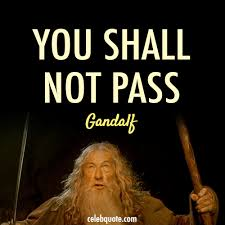the lord of the rings the fellowship of the ring 2001 quote