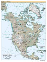 Baffin Bay On World Map by Maps Of North America And North American Countries Political