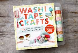 washi crafts book and giveaway