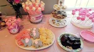 a little peanut is on the way u2013 pink and grey elephant baby shower