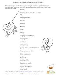 health worksheet free worksheets library download and print