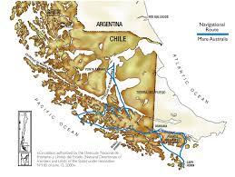 Magellan Route Map by Eco Adventure International Llc