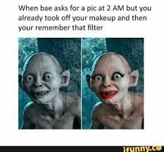 Smeagol Meme - gollum makeup meme makeup daily