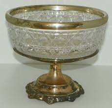 silver centerpieces silver co centerpiece lead bowl with silverplated