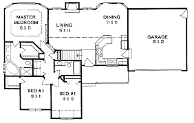 Ranch Floor Plans Back Simple Ranch House Plans House Plans 19819
