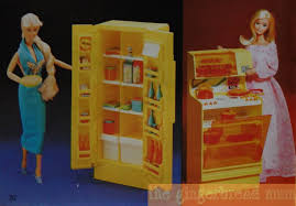 barbie kitchen furniture vintage mattel toy catalogue u2013 barbie u0027s kitchen thegingerbreadmum
