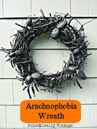 20 scary diy halloween wreaths that wow shelterness