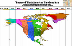 States In Mexico Map Time Zone Map Of The United States Nations Online Project North