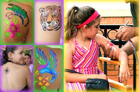airbrush tattoo party for kids we are so doing this someday