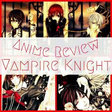 anime review vampire knight anime amino