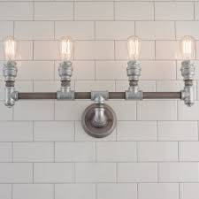 Industrial Bathroom Fixtures Lighting Industrial Lighting Fixtures For Bathroomindustrial
