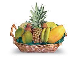 fruit in a basket tropical gift basket fruit baskets