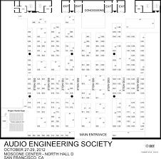 Exhibition Floor Plan Aes San Francisco 2012 Exhibition Floor Plan