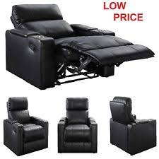 leather seat lounge sofa recliner home theater living room with