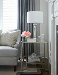Side Table In Living Room Glass Side Table Will Set Modern Living Room 2015 Trends