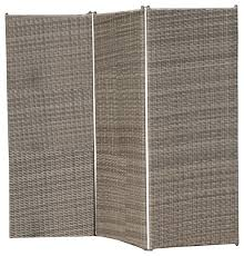 Room Dividers And Privacy Screens - osage outdoor wicker privacy screen tropical screens and room