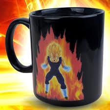 dragon ball z vegeta heat reactive mug makion cartoon fashion
