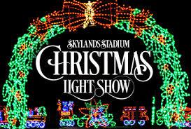 christmas lights events nj stadium christmas light show