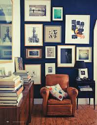 Home Gallery Interiors Royal Blue Wall Collection Of Pictures On Wall Leather
